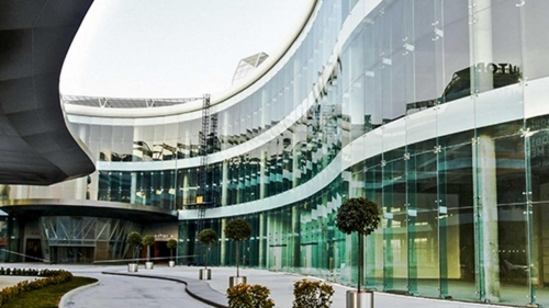 Winning Baufit Glass Facade