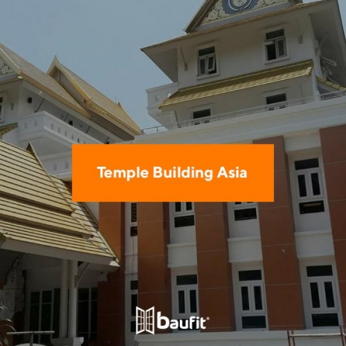 Temple Building Asia